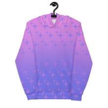 Load image into Gallery viewer, Purple Ghost Sparkle Unisex Adult Hoodie