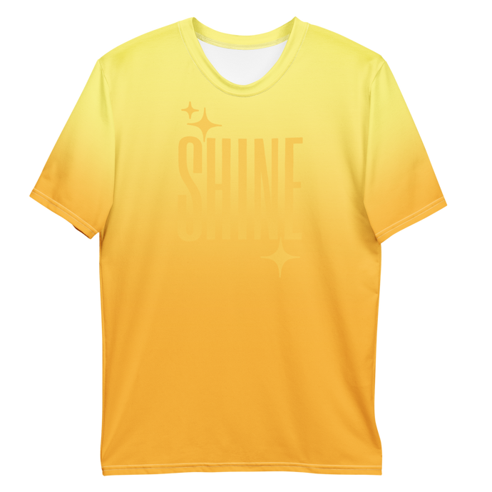 Shine Ghost Text Men's Tee