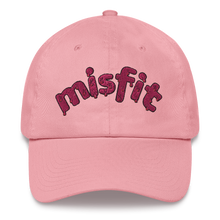 Load image into Gallery viewer, Misfit Embroidered Dad Hat