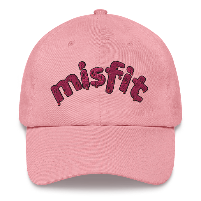 Misfit Embroidered Dad Hat