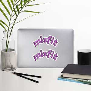 "Misfit 5.5"" Vinyl Sticker Sheet"