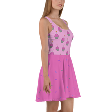 Load image into Gallery viewer, Birthday Cupcake Women's Skater Dress
