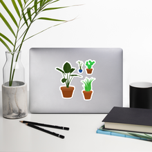 "Load image into Gallery viewer, House Plants 5.5"" Vinyl Sticker Set"