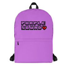 Load image into Gallery viewer, Purple Squad Backpack