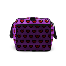 Load image into Gallery viewer, Purple Squad Hearts Duffle Bag - Rhonda World