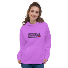 Load image into Gallery viewer, Purple Squad Unisex Adult Hoodie