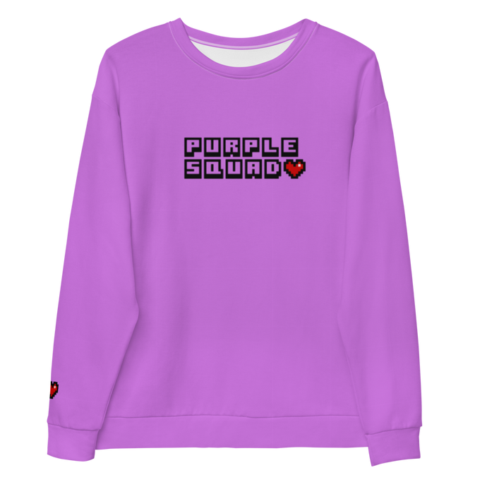 Purple Squad Unisex Sweatshirt
