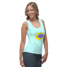 Load image into Gallery viewer, Tropical Fish Women's Tank Top