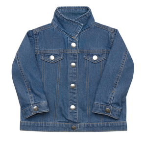 Octopus Infant/Toddler Embroidered Organic Denim Jacket
