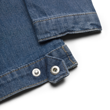 Load image into Gallery viewer, Octopus Infant/Toddler Embroidered Organic Denim Jacket