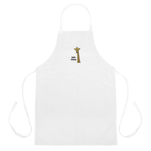 Load image into Gallery viewer, Friendly Giraffe Embroidered Apron