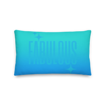 Load image into Gallery viewer, Fabulous Ghost Text Pillow
