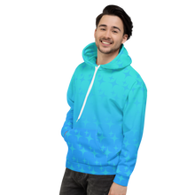 Load image into Gallery viewer, Blue Ghost Sparkle Unisex Adult Hoodie