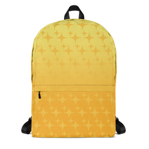 Yellow Ghost Sparkle Backpack