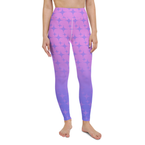 Purple Ghost Sparkle Women's Leggings