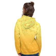 Load image into Gallery viewer, Yellow Ghost Sparkle Hoodie