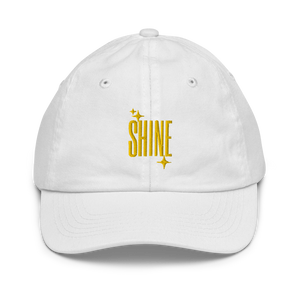 Shine Embroidered Kid's Baseball Cap