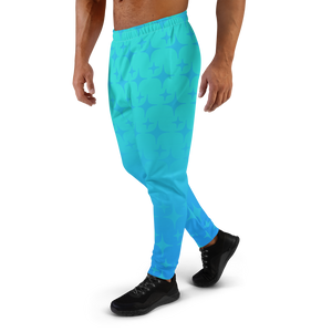 Blue Ghost Sparkle Men's Joggers