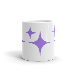 Purple Sparkle Mug