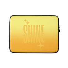 Load image into Gallery viewer, Shine Ghost Text Laptop Sleeve