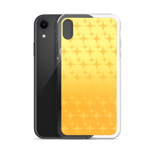 Yellow Ghost Sparkle Phone Case (iPhone 6/6S/6 Plus/6S Plus/7/8/7 Plus/8 Plus/X/XS/XR/XS Max/11/11 Pro/11 Pro Max/SE)