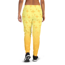 Load image into Gallery viewer, Yellow Ghost Sparkle Women's Joggers