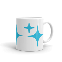Load image into Gallery viewer, Blue Sparkle Mug - Rhonda World