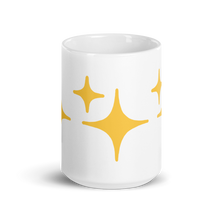 Load image into Gallery viewer, Yellow Sparkle Mug