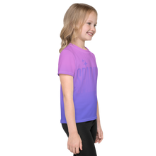 Load image into Gallery viewer, Sparkle Ghost Text Unisex Kid's Tee