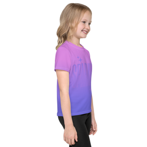 Sparkle Ghost Text Unisex Kid's Tee