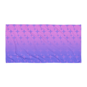 Purple Ghost Sparkle Towel