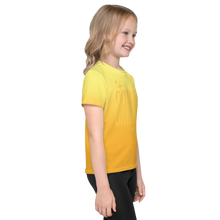 Load image into Gallery viewer, Shine Ghost Text Kid's Unisex Tee