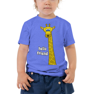 Friendly Giraffe Unisex Toddler's Tee