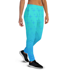 Blue Ghost Sparkle Women's Joggers