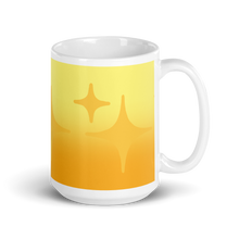 Load image into Gallery viewer, Yellow Ghost Sparkle Mug