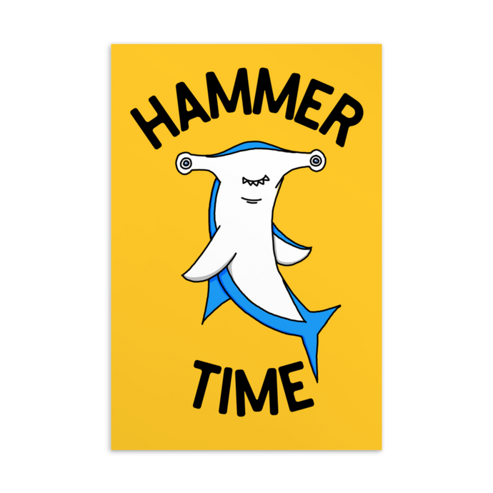 Hammer Time Postcard