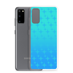 Blue Ghost Sparkle Phone Case (Samsung Galaxy S7/S7 Edge/S8/S8+/S9/S9+/S10/S10+/S10e/S20/S20 Plus/S20 Ultra)