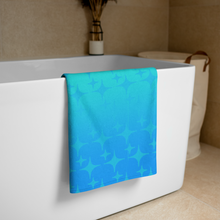 Load image into Gallery viewer, Blue Ghost Sparkle Towel