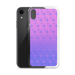 Purple Ghost Sparkle Phone Case (iPhone 6/6S/6 Plus/6S Plus/7/8/7 Plus/8 Plus/X/XS/XR/XS Max/11/11 Pro/11 Pro Max/SE)