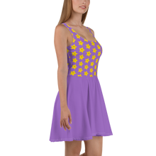 Load image into Gallery viewer, Kawaii Stars Women's Skater Dress