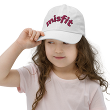 Load image into Gallery viewer, Misfit Embroidered Kid's Baseball Cap