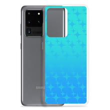 Load image into Gallery viewer, Blue Ghost Sparkle Phone Case (Samsung Galaxy S7/S7 Edge/S8/S8+/S9/S9+/S10/S10+/S10e/S20/S20 Plus/S20 Ultra)
