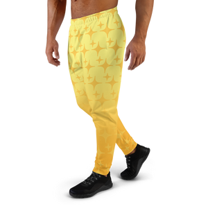Yellow Ghost Sparkle Men's Joggers