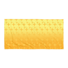Load image into Gallery viewer, Yellow Ghost Sparkle Towel - Rhonda World