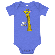 Load image into Gallery viewer, Friendly Giraffe Infant Onesie