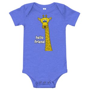 Friendly Giraffe Infant Onesie