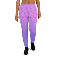 Load image into Gallery viewer, Purple Ghost Sparkle Women's Joggers