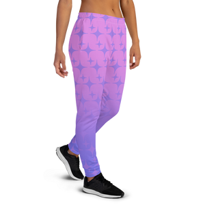 Purple Ghost Sparkle Women's Joggers
