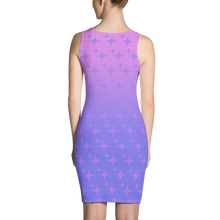 Load image into Gallery viewer, Purple Ghost Sparkle Women's Bodycon Tank Dress