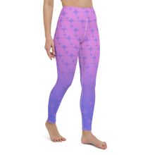 Load image into Gallery viewer, Purple Ghost Sparkle Women's Leggings